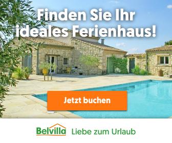 BELvilla Ferienhäuser, BELvilla Ferienwohnungen, BELvilla Chalets, BELvilla Fincas, BELvilla Villen, BELvilla Bauernhöfe, BELvilla Ferienparks