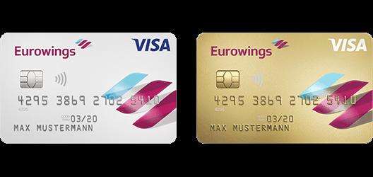 Barclaycard Visa Eurowings Classic, Barclaycard Visa Eurowings Gold