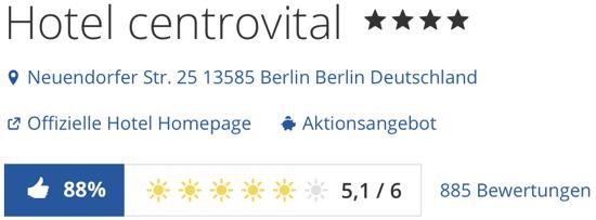 Berlin Hotel Centrovital, holidaycheck urlaub reisen hotels Hotelbewertungen