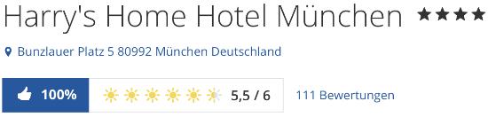 Harrys home München, Bewertung Holidaycheck.de reisen hotels