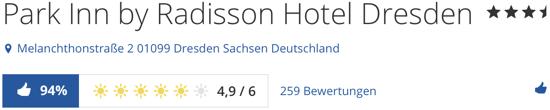 Park Inn by Radisson Dresden, holidaycheck reisen hotels berwertungen