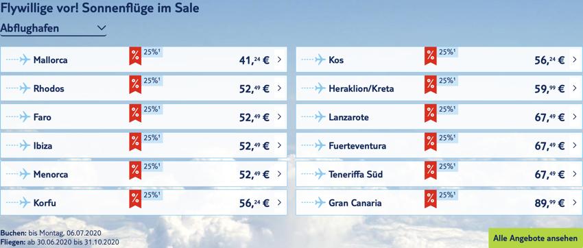 TUI fly Rabatt, tui fly aktion, tui fly billig, Billigflüge, Mallorca Billigflug, Griechenland Flug billig, Spanien Flug billig