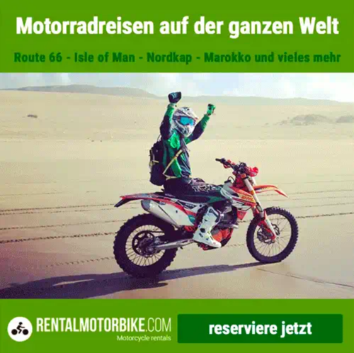 Rentalmotorbike motorrad mieten
