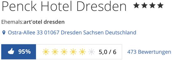 Penck Hotel Dresden, holidaycheck reisen hotels berwertungen
