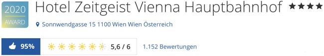 hotel Zeitgeist Wien, holidaycheck reisen hotels bewertungen