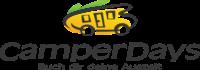 camperdays logo, Wohnmobil nieten, Wohnmobile mieten, camperdays Wohnmobile, Wohnmobil aktion, Wohnmobil gutschein