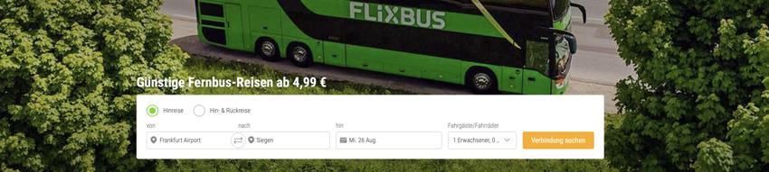 flixdeal, flixbus aktion, flixbus Gutschein