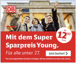 Bahn Super Sparpreis Young