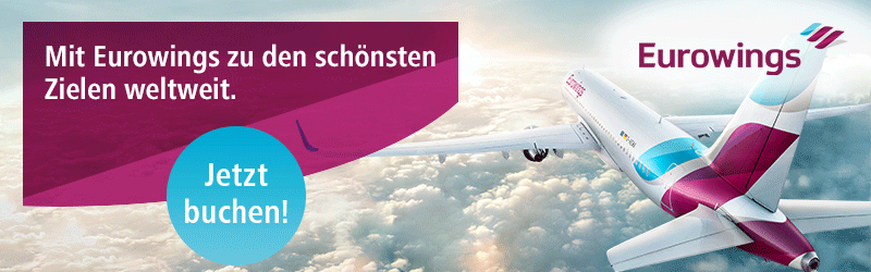 eurowings aktion, eurowings Billigflüge, Billigflieger