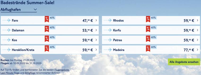 TUI fly Rabatt, tui fly aktion, tui fly billig, Billigflüge, Mallorca Billigflug, Griechenland Flug billig, Spanien Flug billig, TUIfly Griechenland, TUIfly Kanaren, TUIfly Portugal