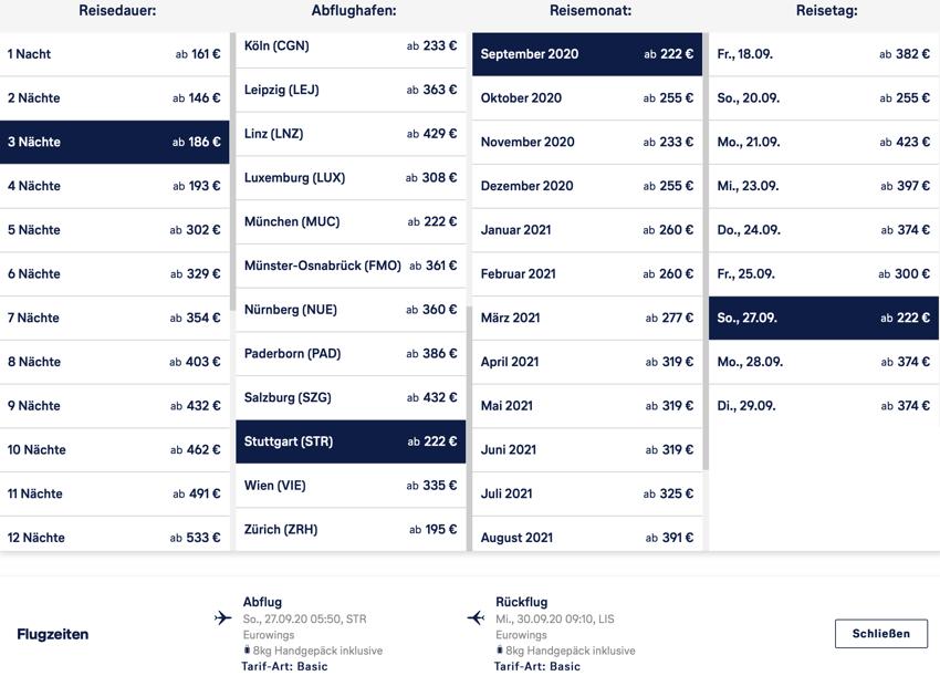Lufthansa Lissabon, Städtereise Lissabon billig, Lissabon last minute, Lissabon Kurzurlaub