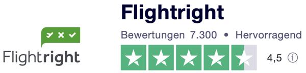 flightright Trustpilot bewertungen