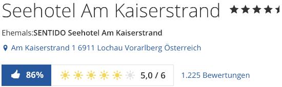 SENTIDO Seehotel Am Kaiserstrand, holidaycheck reisen Hotels Bewertungen