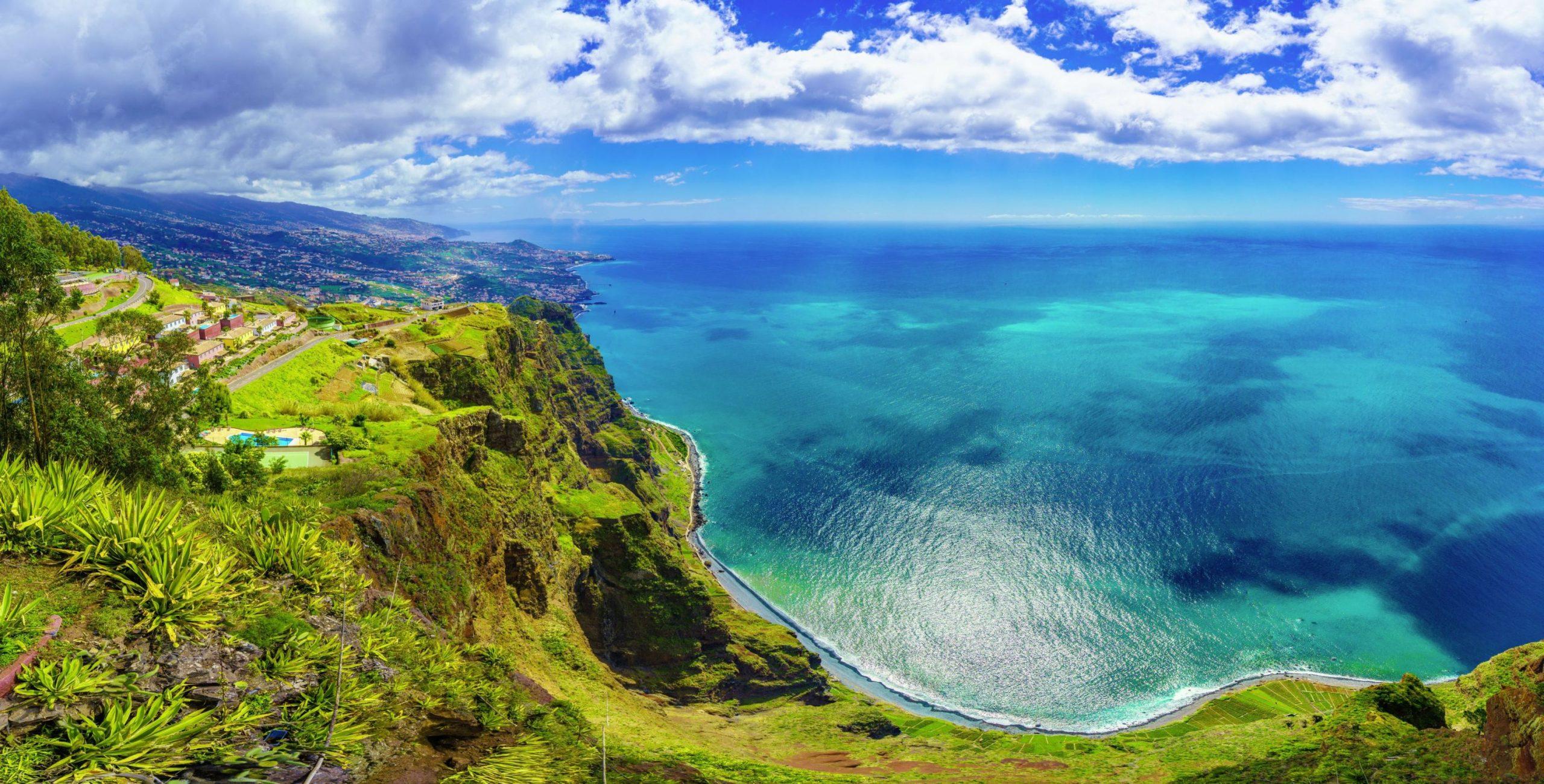 Madeira Ausblick von Cabo Girao