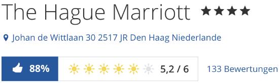 The Hague Marriott Hotel den haag, holidaycheck reisen hotels bewertungen