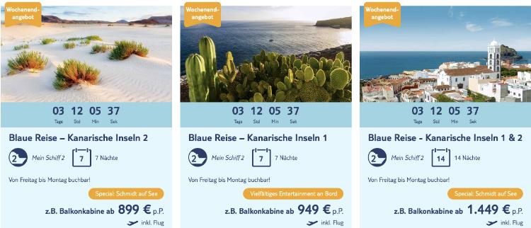 TUI Cruises Wochenendangebot, TUI Cruises schnäppchen, Mein Schiff Angebot, Mein Schiff Wochenendangebot, Mein Schiff schnäppchen, Mein Schiff blaue reise, TUI Cruises blaue reise
