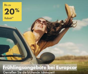 Herbsturlaub Angebote Europcar, Europcar aktion, Frühlingsangebote Europcar, Mietwagen billig, black week Europcar, Frühlingsgefühle, sale Mietwagen