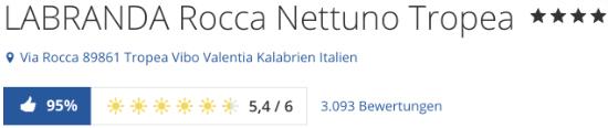LABRANDA Rocca Nettuno Tropea, holidaycheck reisen hotels bewertungen