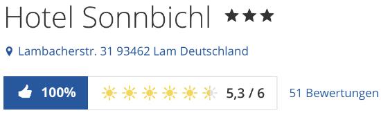 Hotel Sonnbichl, holidaycheck reisen Hotels Bewertungen