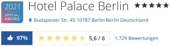 Hotel Palace Berlin, holidaycheck hotels Bewertungen reisen